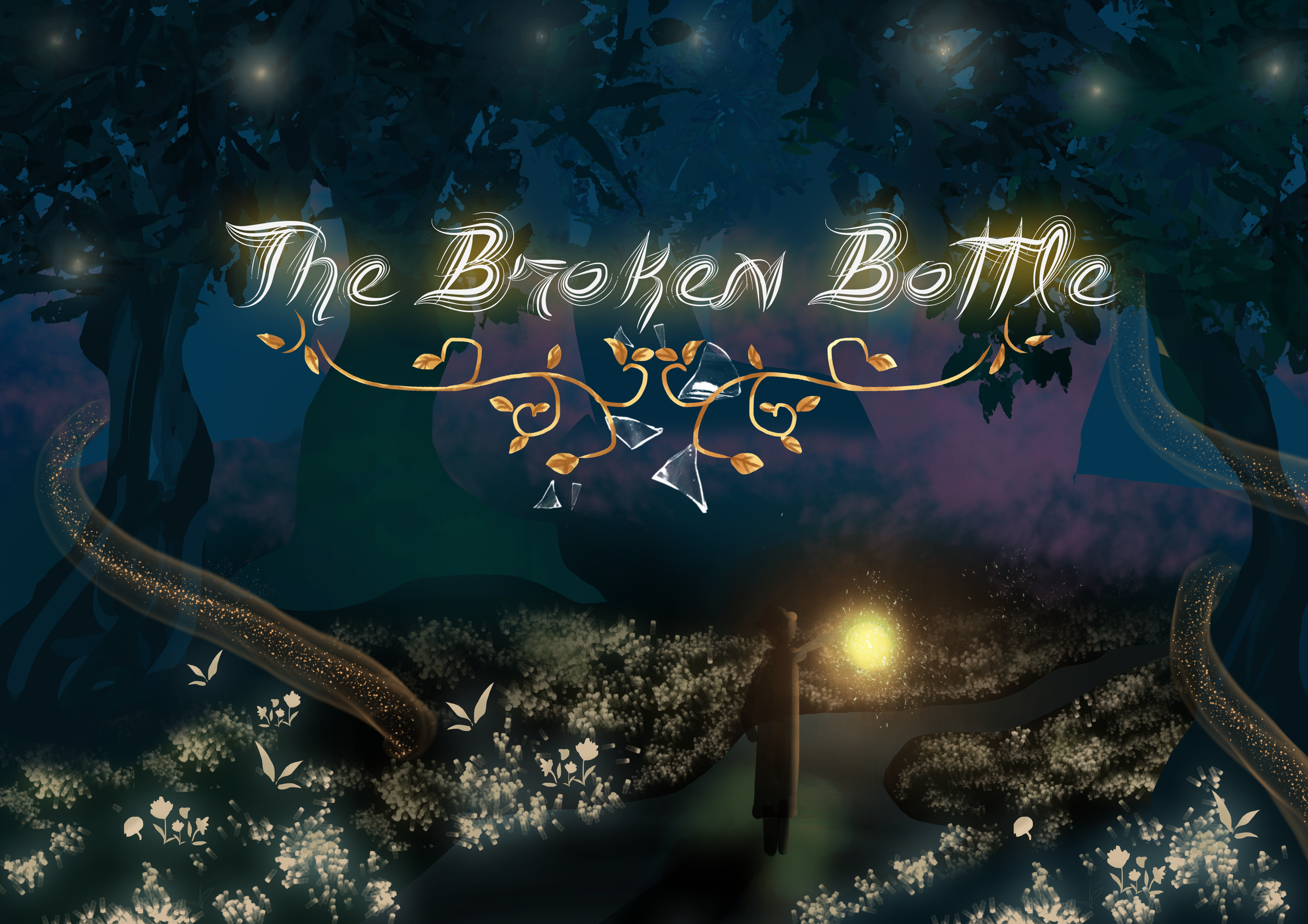 Our beautiful title screen by Anh Luu