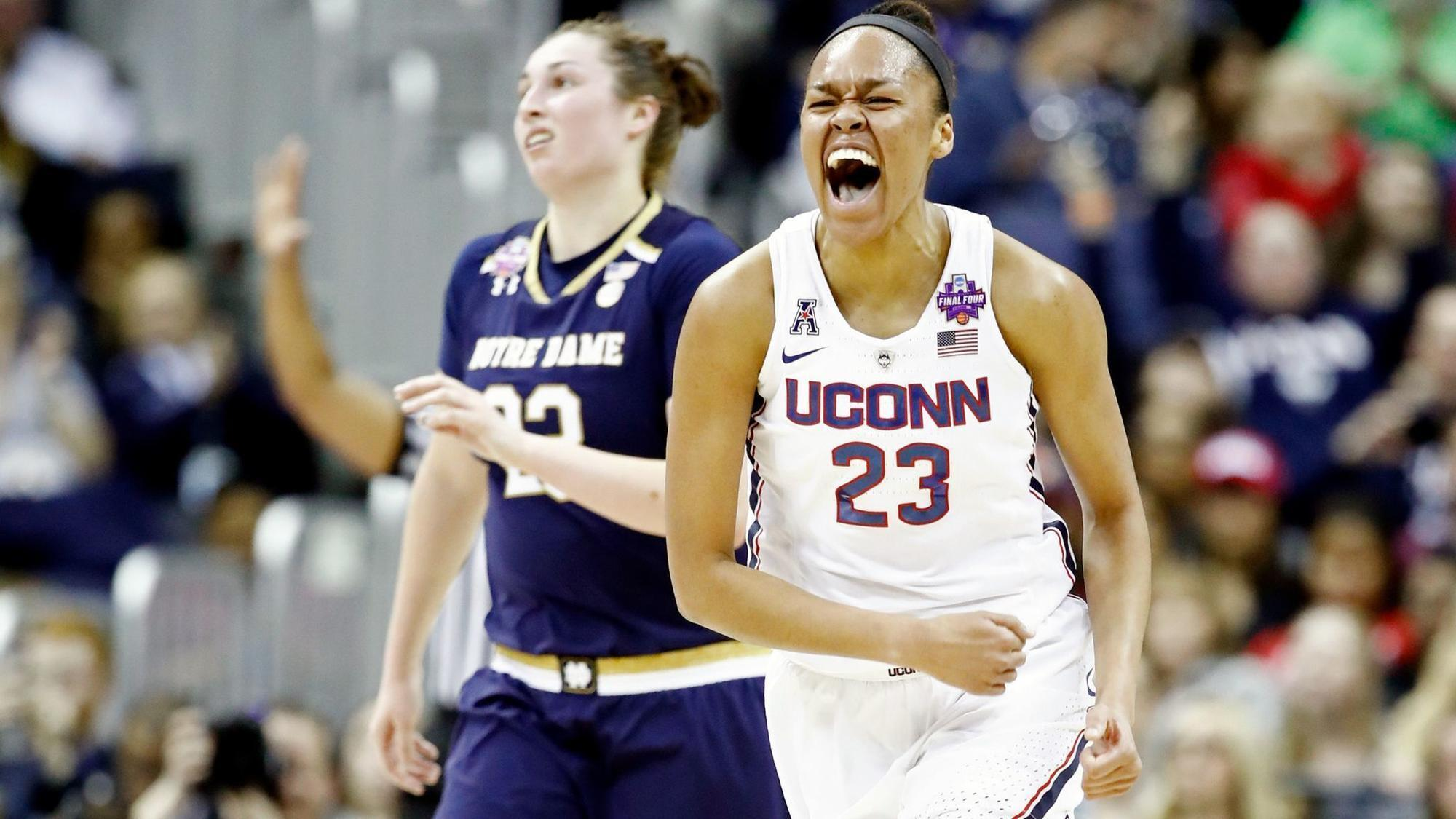 Dallas Wings drafted UConn's Azura Stevens sixth in the 2018 WNBA Draft (Getty Images)