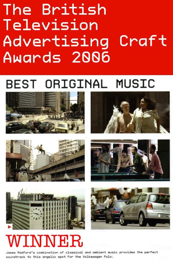 James Radford Music British Arrows Awards 007