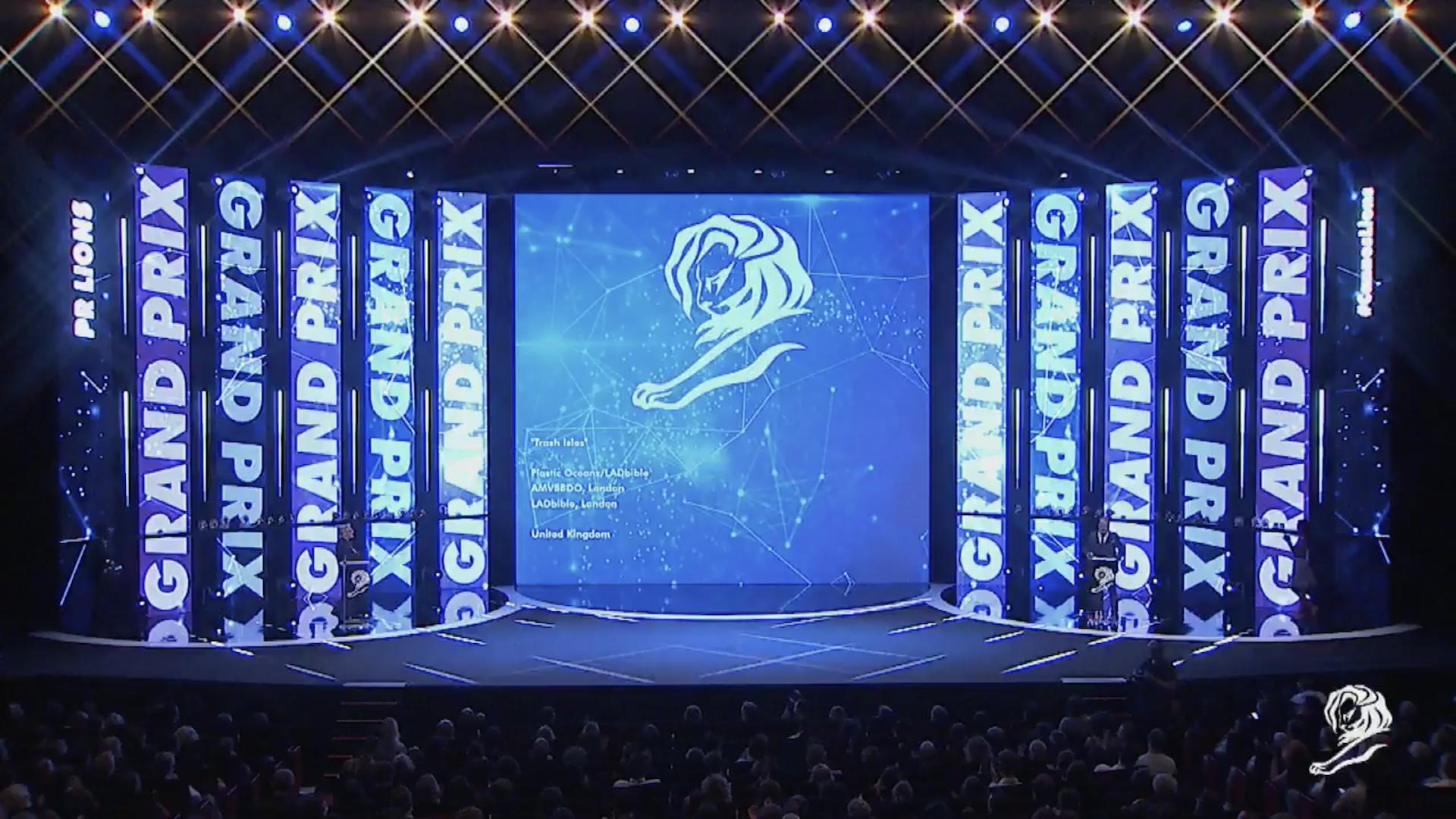 James Radford Cannes Lions PR Grand Prix