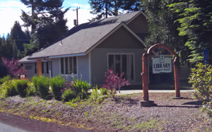 Prospect Library - 150 Mill Creek Drive. Prospect, OR 97536 | (541) 560-3668