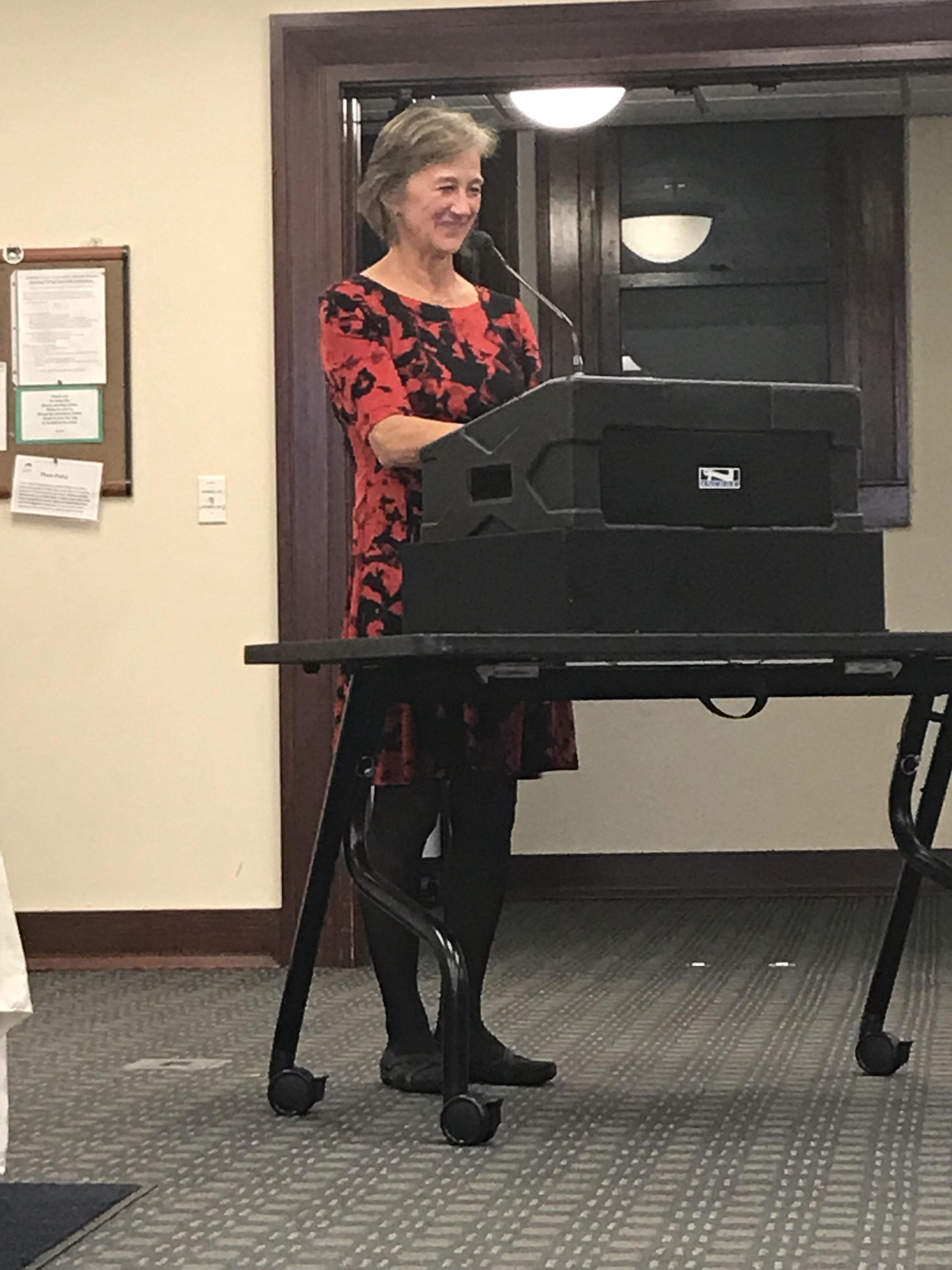 Amy Blossom, former Ashland Branch Manager