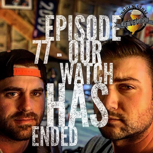 Episode #77 - Our Watch Has Ended  Tonight the boys drank Tito's alone in the loft for a short chat. They discussed the final episode of Game of Thrones, Jared's terrible flight, stories of Bitcoin, and the upcoming Memorial Day weekend. Please remember to Rate and Review , Cheers. —————————— #nj #podcasters #newjersey #podcast #podcasting #boys #men #postal #drinking #beer #gardenstate #vodka #party #podcastersofinstagram #news #podcastaddict #podcastmovement #got #gameofthrones