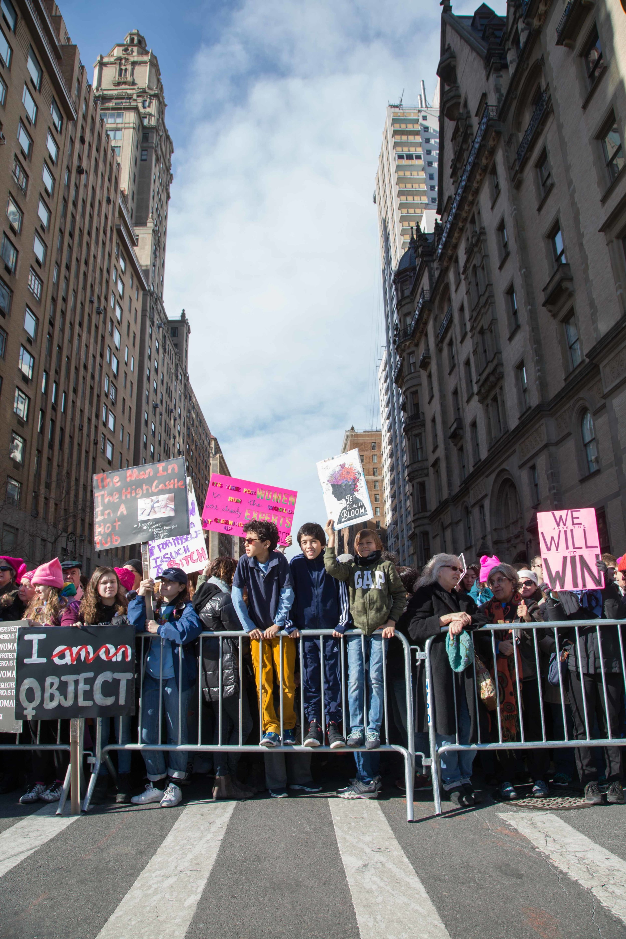 2018 Women's March NYC