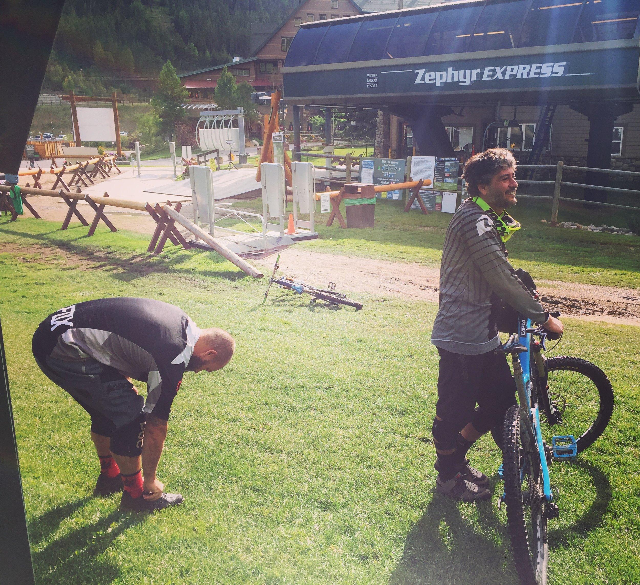 Trestle Bike Park 2016  Riders: Tony Parent, Josh Payne