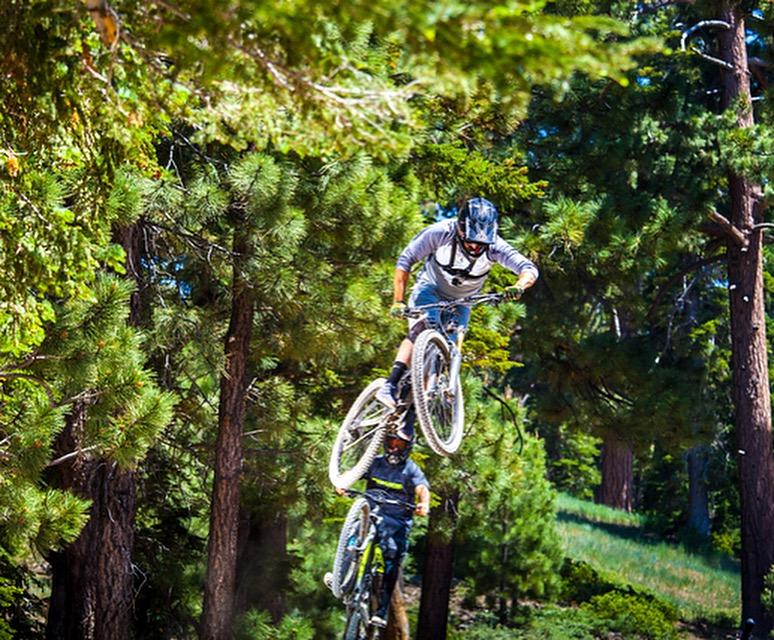 Snow Summit Bike Park Early 2016  Riders: Jeremiah Work, Carter Holland