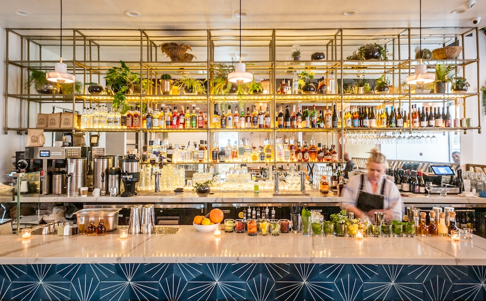 fundamental DTLA full cocktail bar