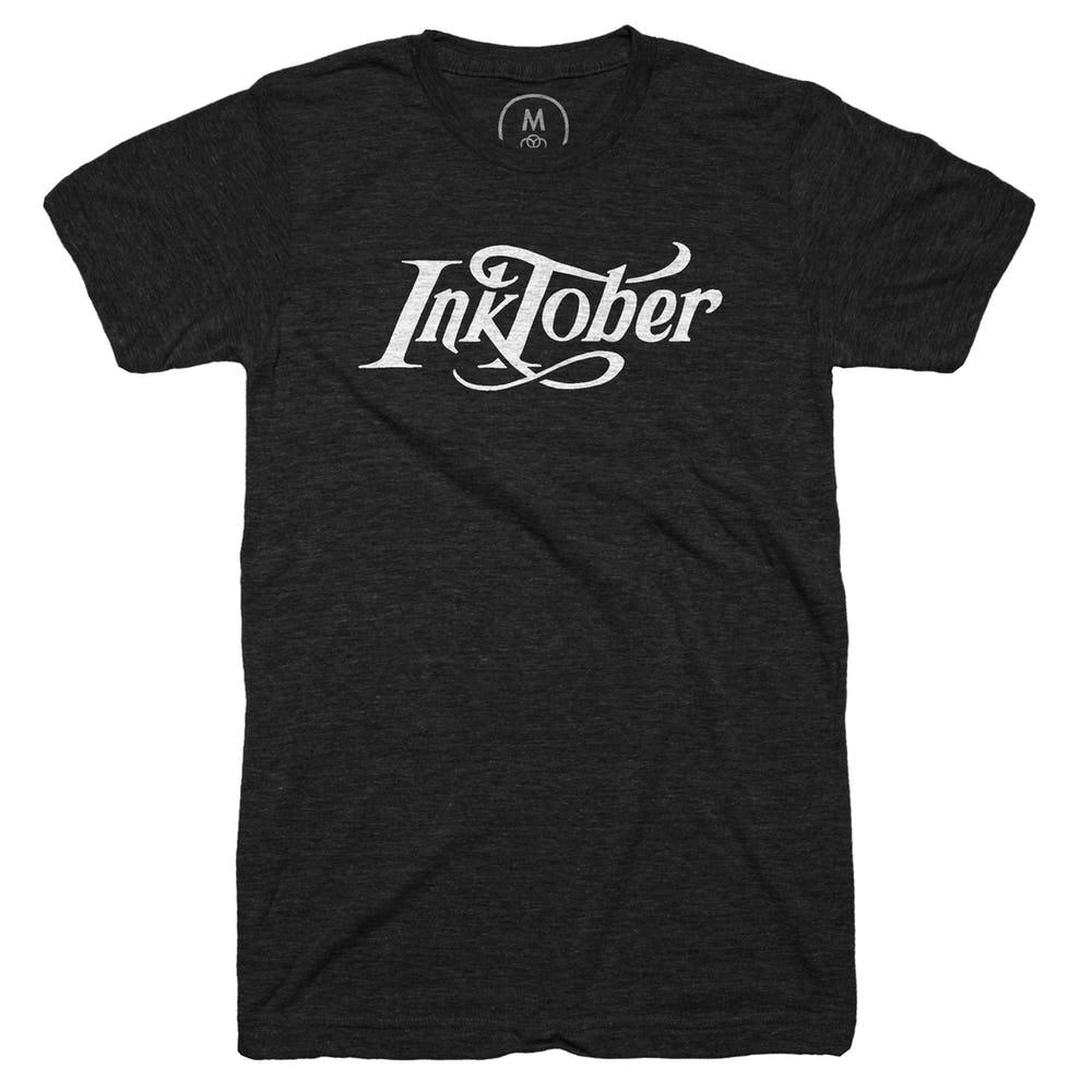 Tshirts - Here's where to buy a snazzy Inktober tshirt. Thru 9/22.
