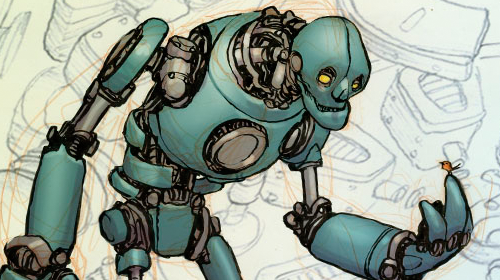 4 - Drawing Robots and Machinery. This one is an oldie, but a goodie. You guys have a lotta love for robots!
