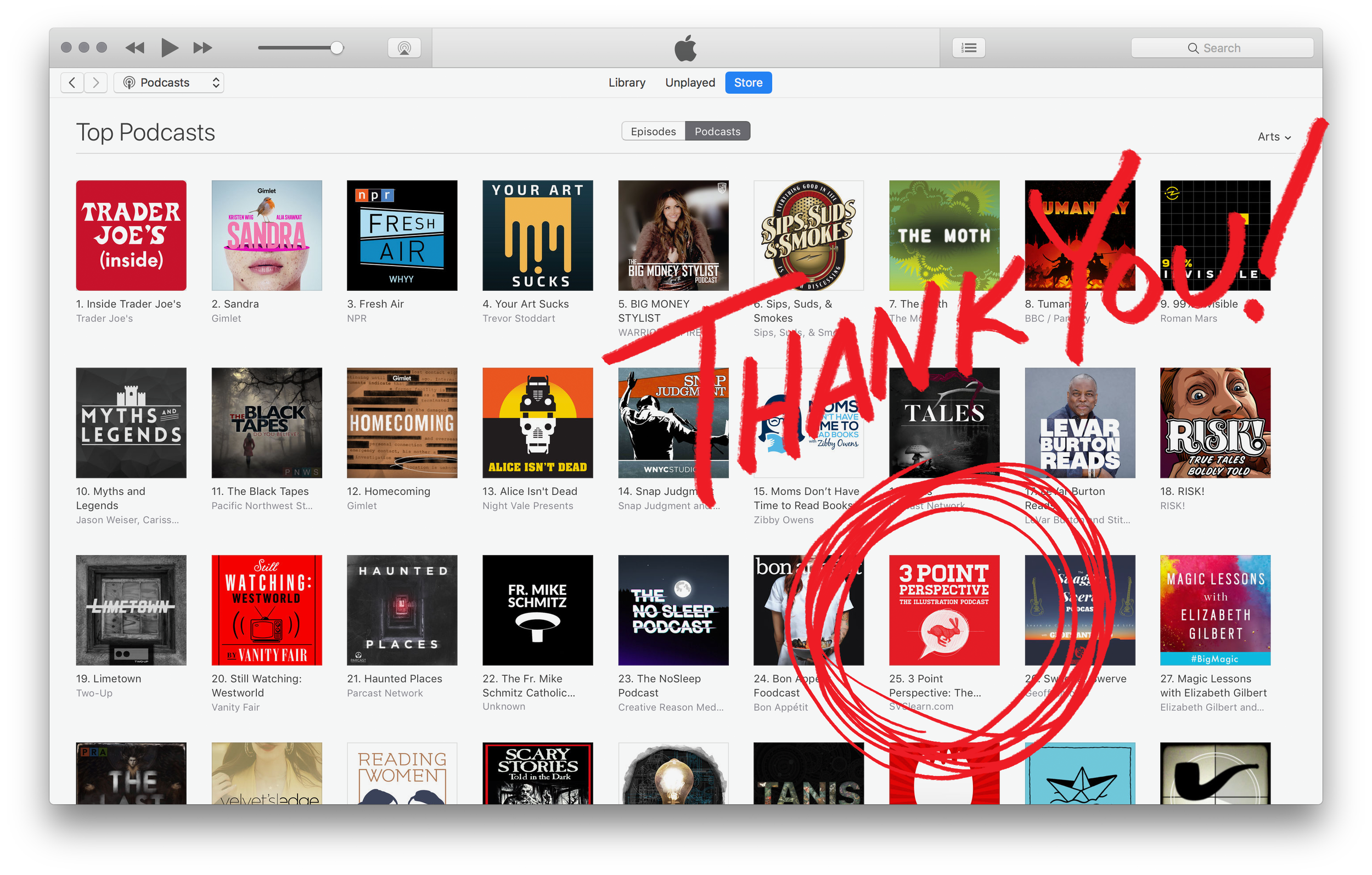 Top 25 in arts podcasts.png