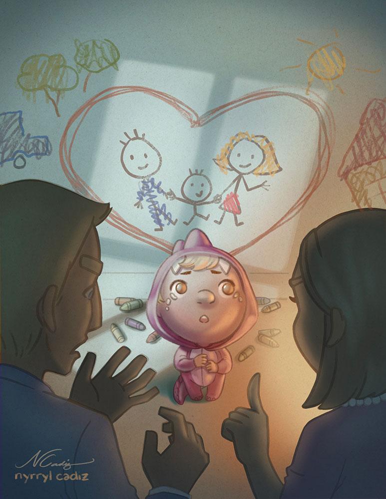1st place! Art by Nyrryl Cadiz.