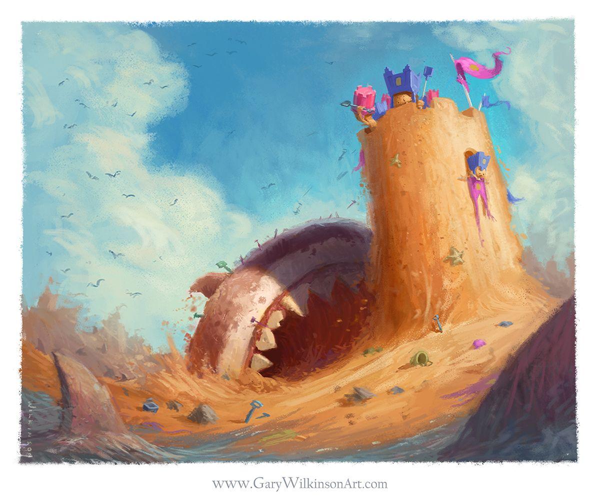 Winner! Art by  Gary Wilkinson .