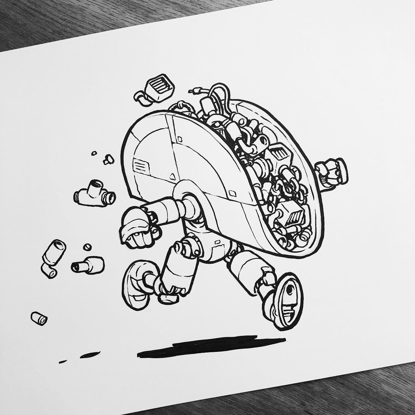 New ink class from the creator of Inktober! — Society of Visual Storytelling