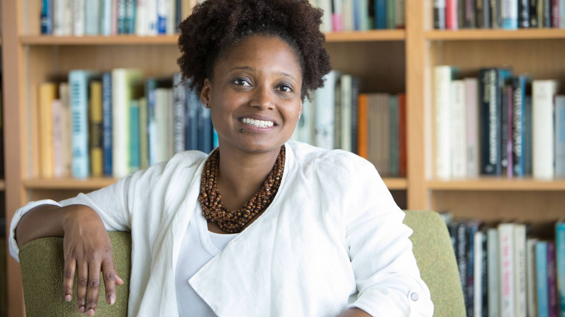 New US Poet Laureate Tracy K. Smith.