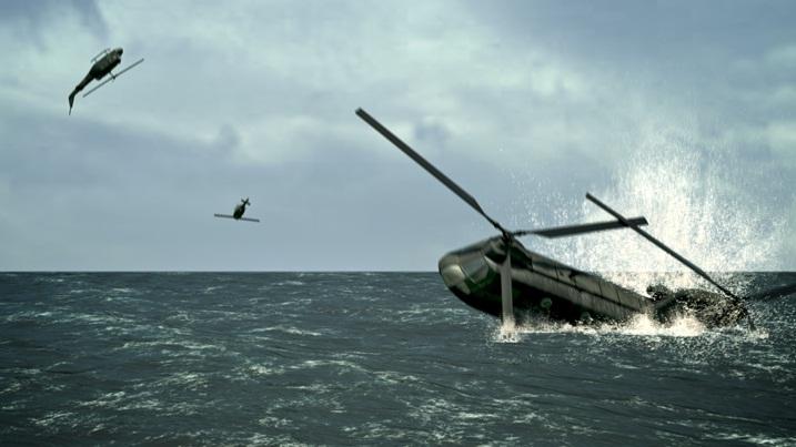 """from Dinh Q. Lê's """"South China Sea Pishkun"""",(2009)."""