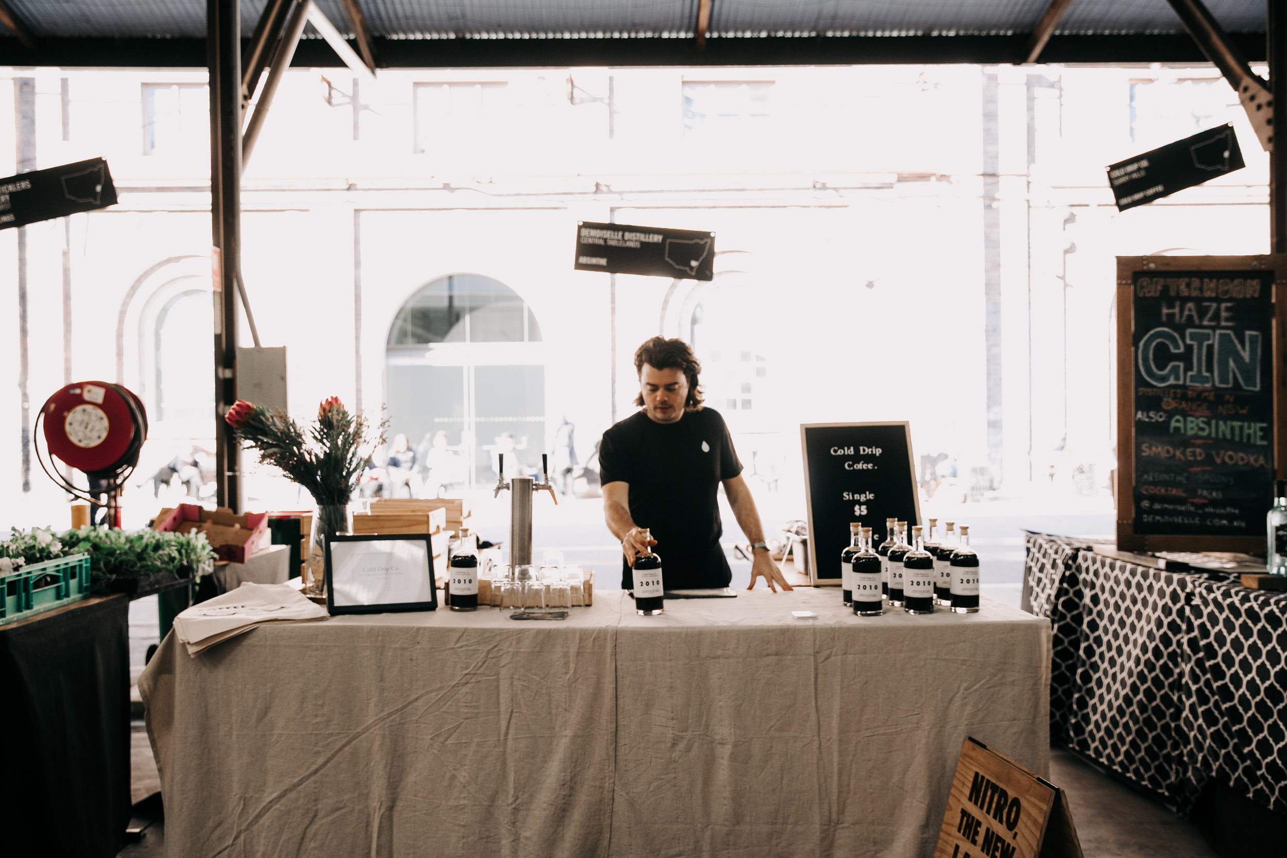Carriageworks and cold drip co