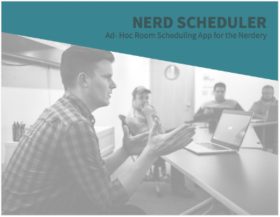 Nerd Scheduler Annotated Wireframes