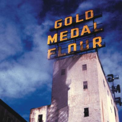 Gold Medal Flour sign from @makeitmsp Instagram