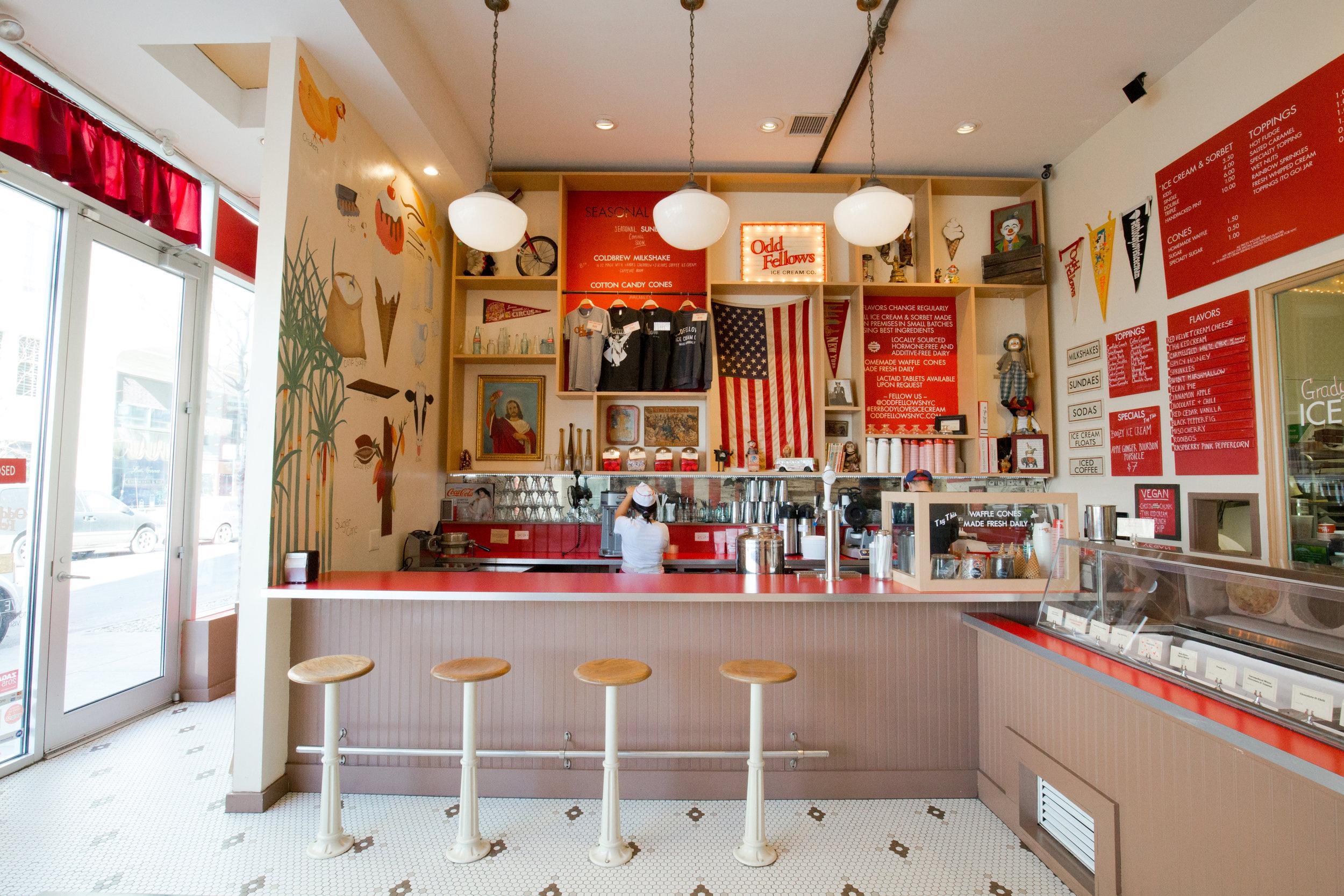 OddFellows Ice Cream Co, NYC.