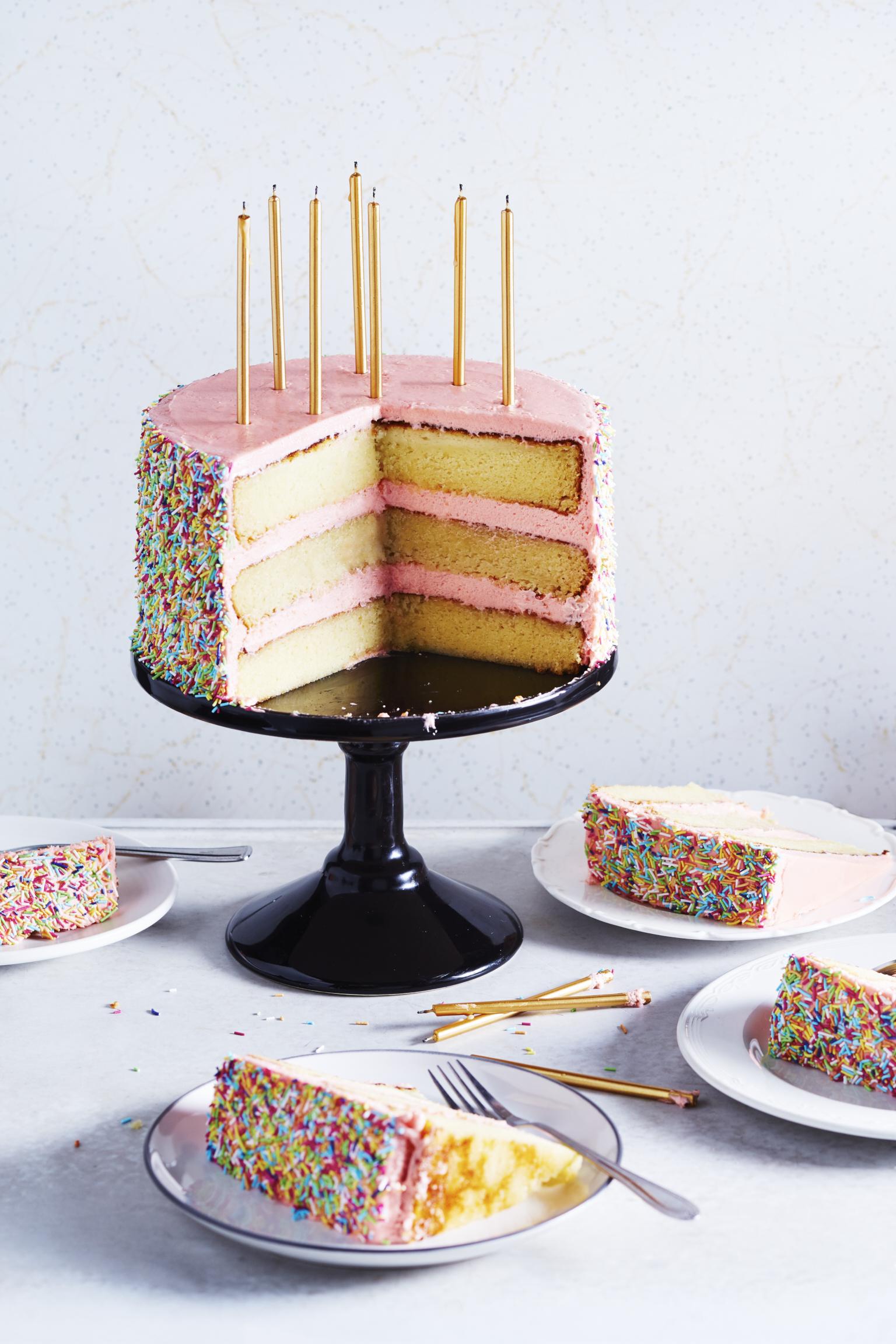 Butter & Scotch's Birthday Cake | The Desserts of New York cookbook