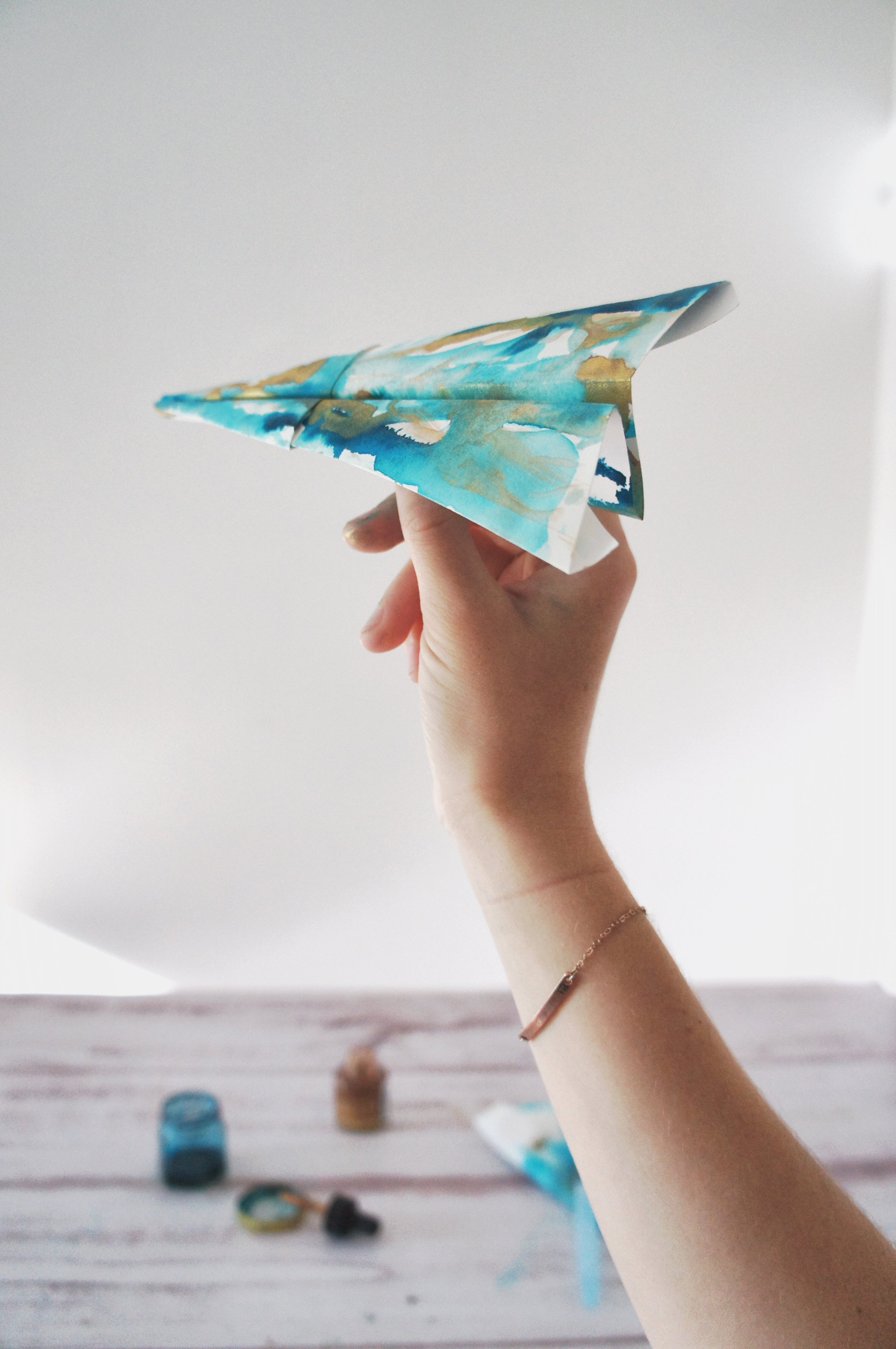 The Art of lonely artists - and paper airplanes