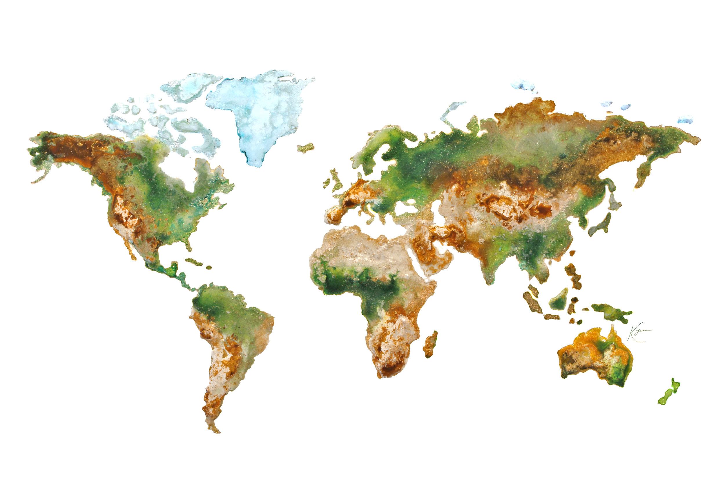 World atlas -