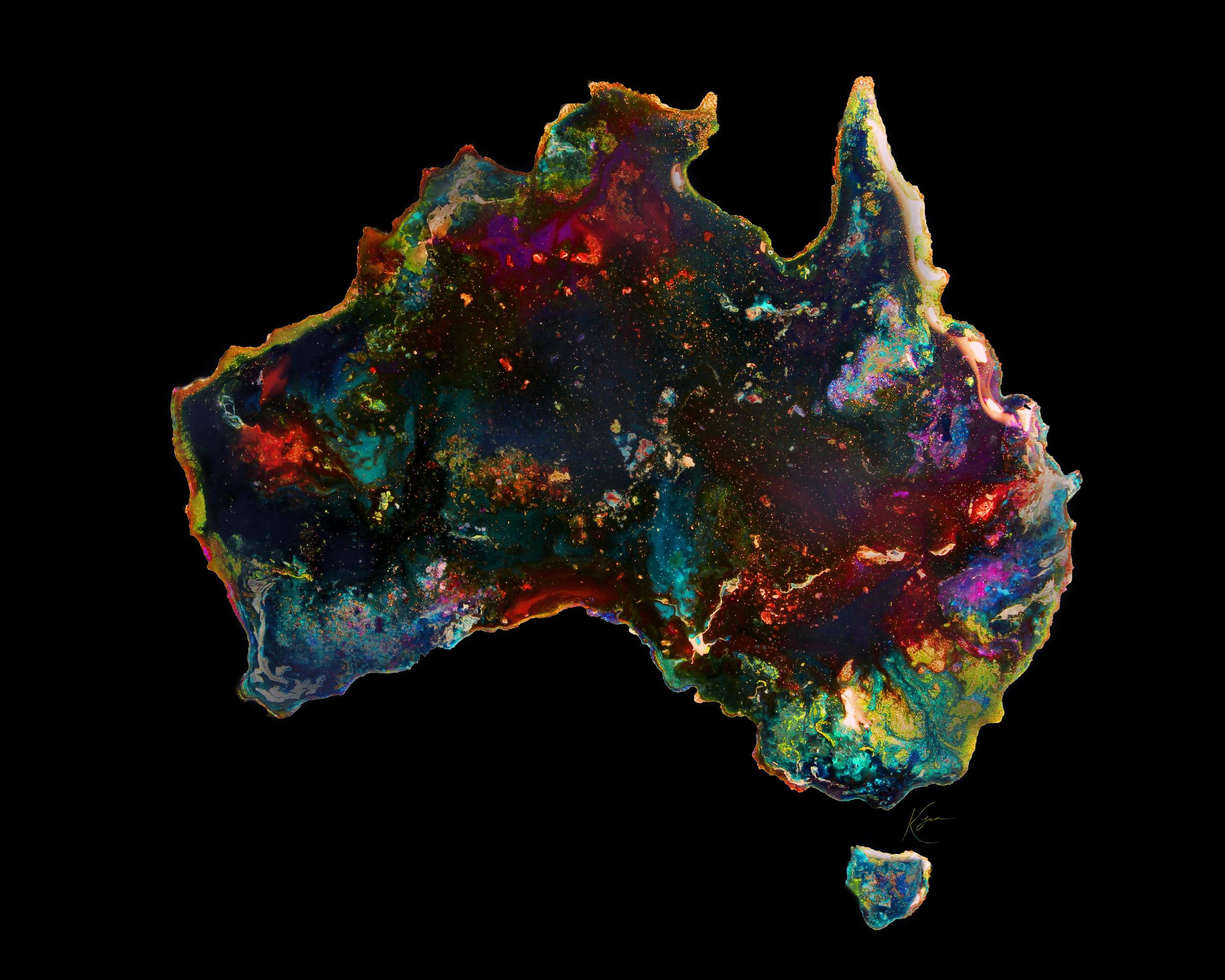 Australian opal - Private Commission