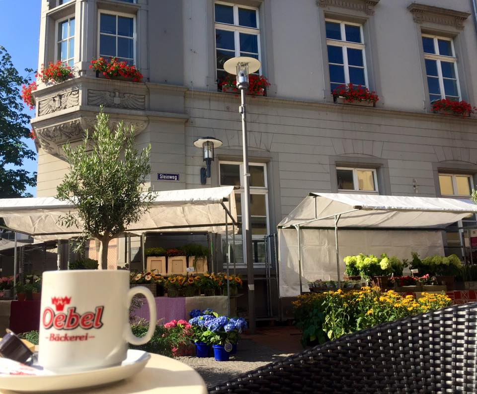One morning in Germany, after traveling a week with people, I decided I needed a quiet morning alone to re-energize. So I walked into the quaint town and had coffee and people watched for a couple of hours.
