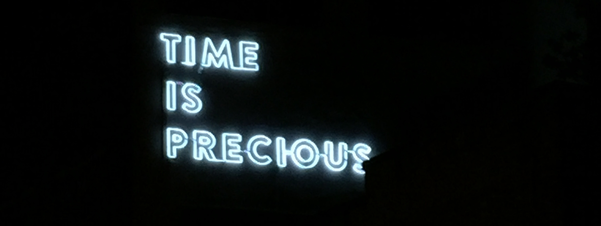 Snapped a picture of this lit up sign while walking around Gas Town. I couldn't help but feel as though it was a great sign to start this spontaneous trip, as well as a good reminder for everyone about life.