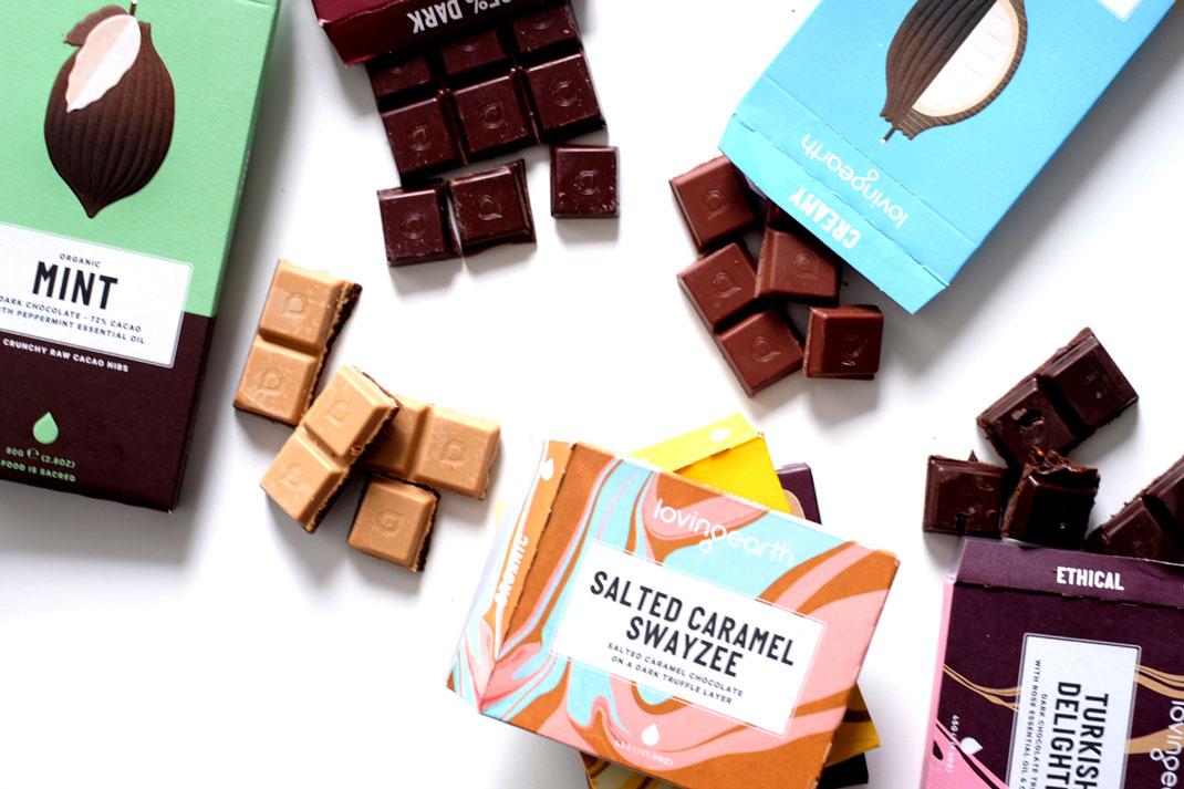 Loving Earth Raw Vegan Chocolate