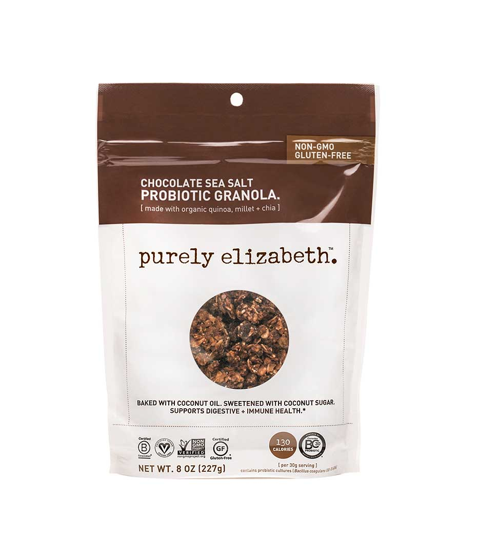 Purely Elizabeth Chocolate Sea Salt Granola