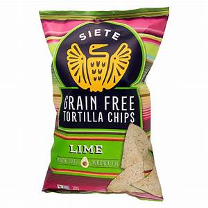 Siete Chips - Lime