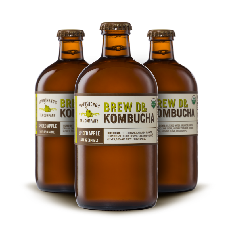 Brew Dr Kombucha - Spiced Apple