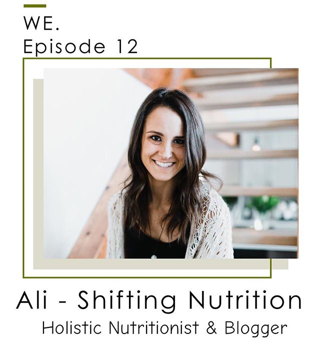 It's Wednesday which means there is a new podcast episode out! This episode is absolutely incredible and provides so much content and knowledge about health. Ali, from @shifting.nutrition, breaks down the basics of nutrition for us and gives us the scoop on whether or not packaged foods are good for us. Do we need them in our diet? Are there certain ingredients we should be avoiding? What packaged foods can we eat? Listen in to find out!