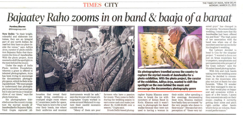Bajaatey Raho zooms in on band & baaja of a baraat