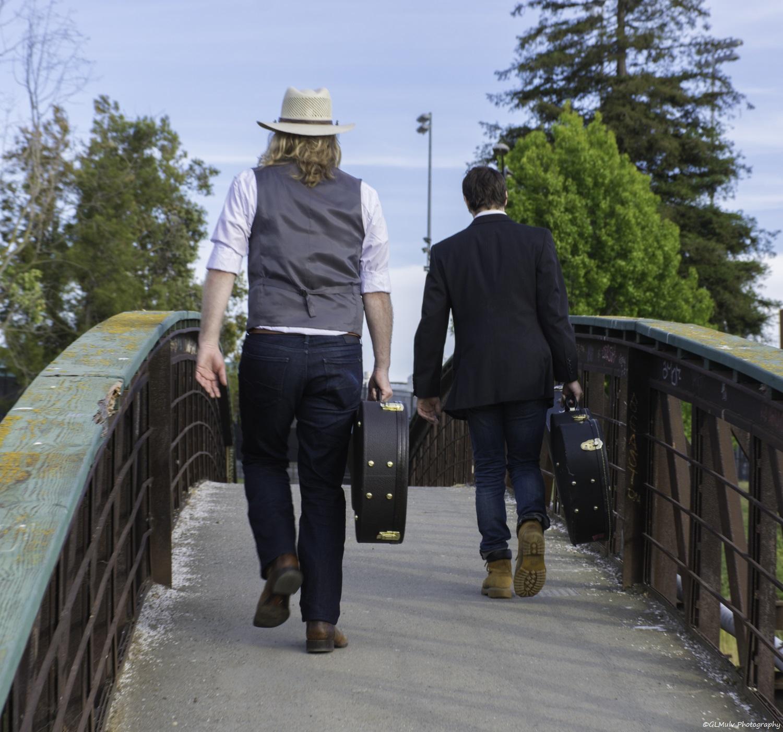 I&M Bridge Walking Away