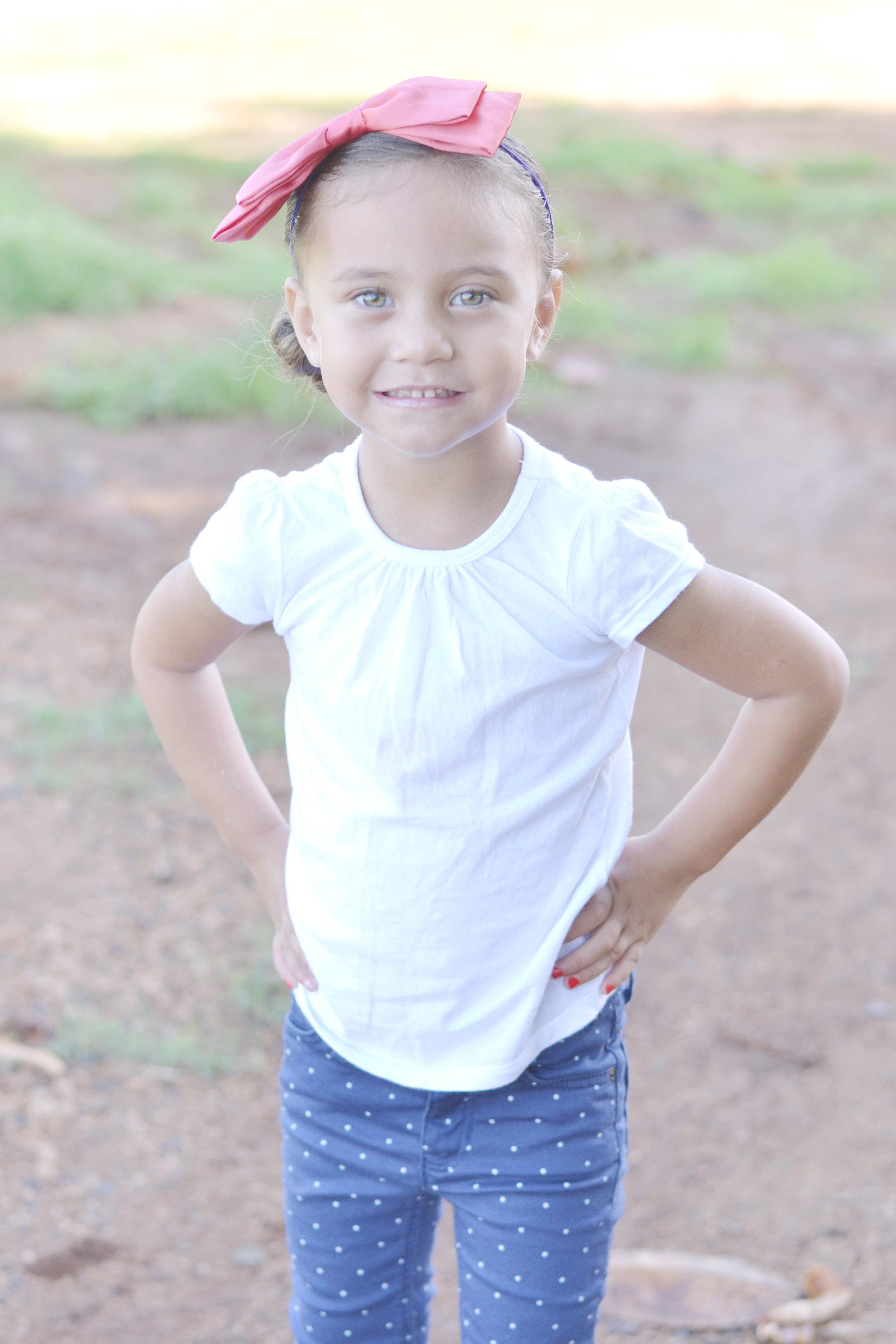 Hina, Age 3