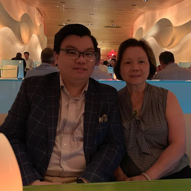 My mom turned 59 last week and I turn 20 in 25 days. I wanted to bring my mom to a nicer restaurant for her birthday because she's sacrificed a lot to raise me to make sure I had a good education. My parents sacrifices made sure I went to college debt-free. Now that I started my first co-op/internship at Merck, I now have a larger amount of disposable income to spend on her and tonight we decided to go to Morimoto. My mom still does everything for me from making me dinner and doing my laundry and in return I make sure their finances are up to date, her iPad works, and their taxes are done every year. I love my parents and my Mom specifically. ❤️ I couldn't bring my Dad because he would have a heart attack looking at the prices.