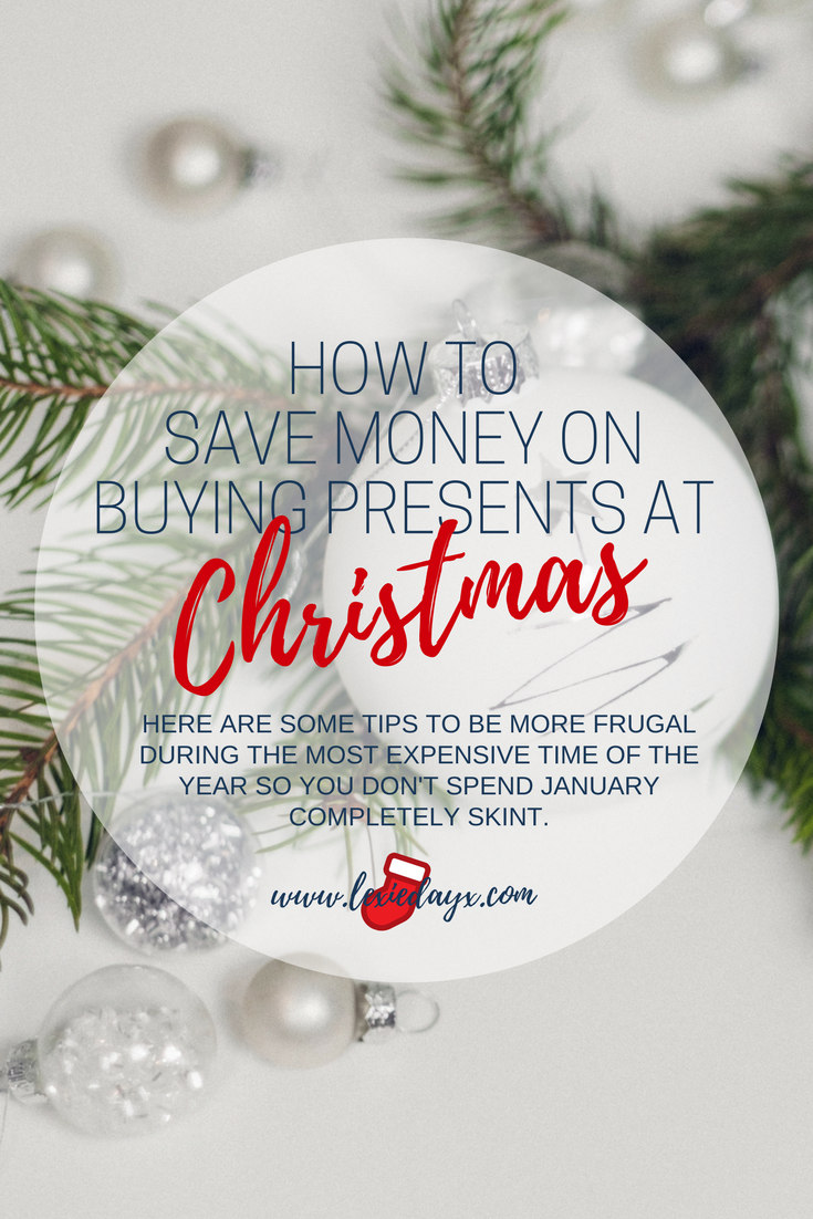 How To Save Money at Christmas so You Don't Spend January Skint  Christmas is my favourite time of the year, partly because my birthday is around this time too.  As much as I love it though, I do dread the cost that comes with Christmas every year.  This year I am going to do my best to save as much money as I can so I don't have to spend January skint. Here are some of the things that I will be doing this year to cut on these costs.