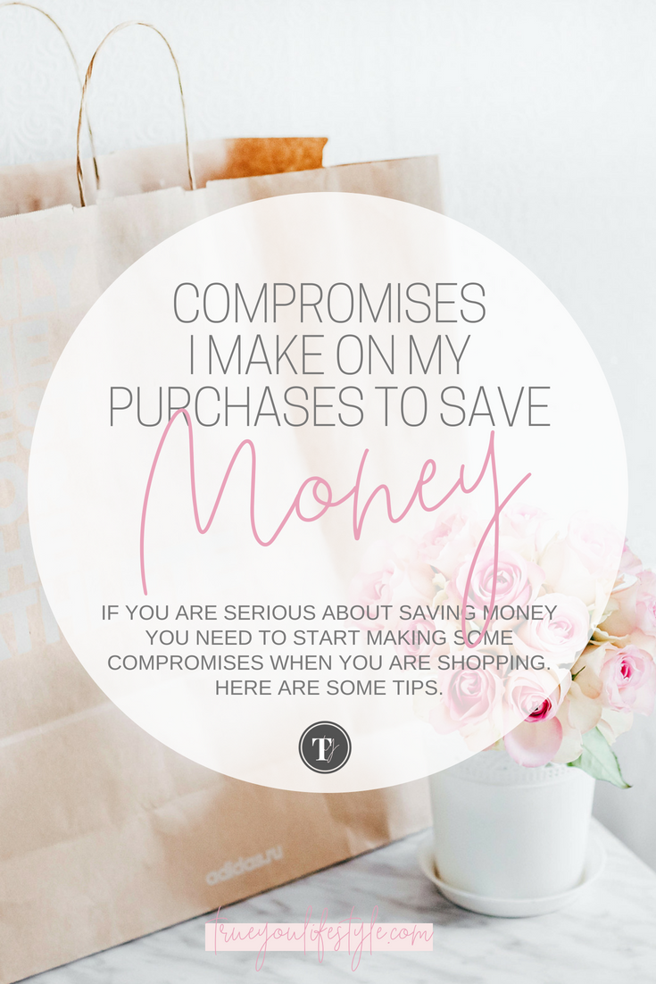 Compromised to make on purchases to save money