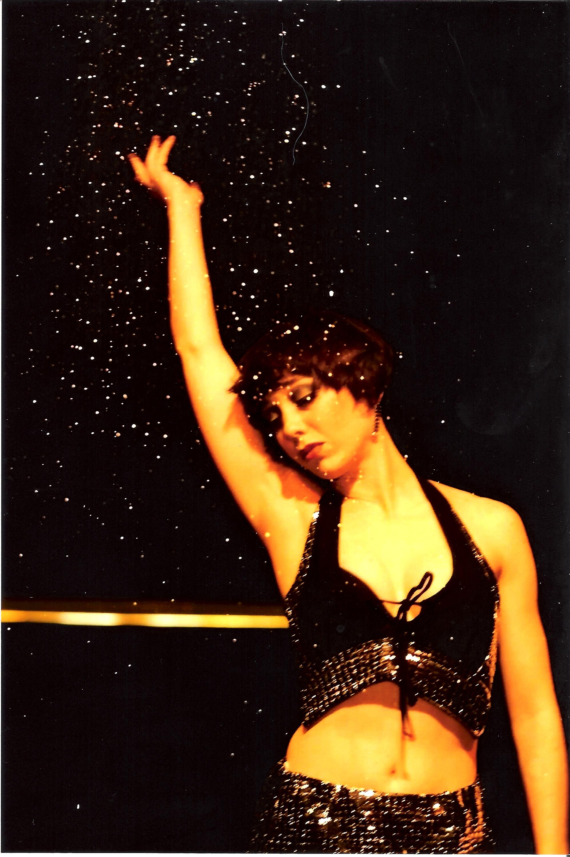 Dyane's dance-theater piece: Go-Go Dancing; 2000; Photo: Peter Hamel
