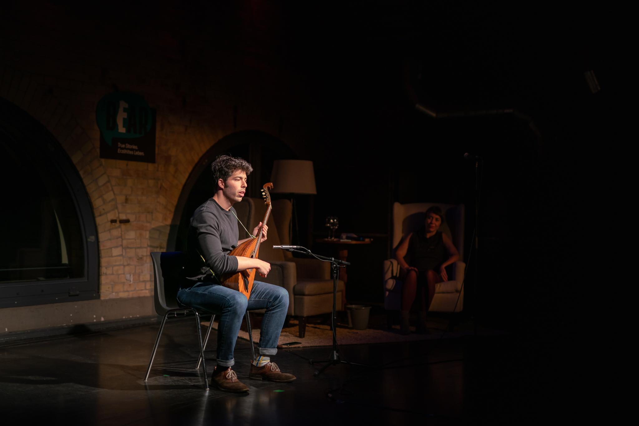 Musical guest Ryan Guterman; Photo: Felix Limmer
