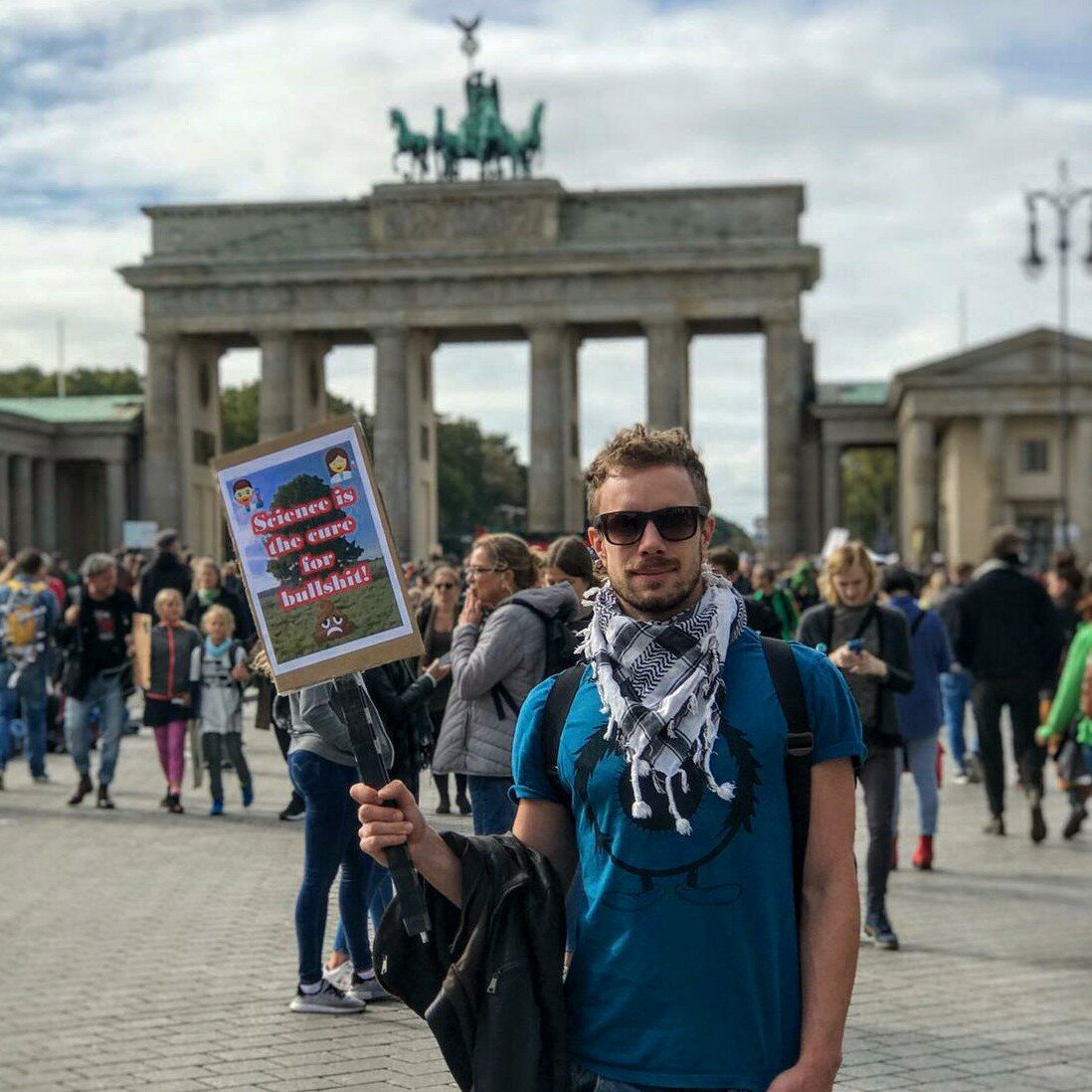 He's in love with the city of Berlin…