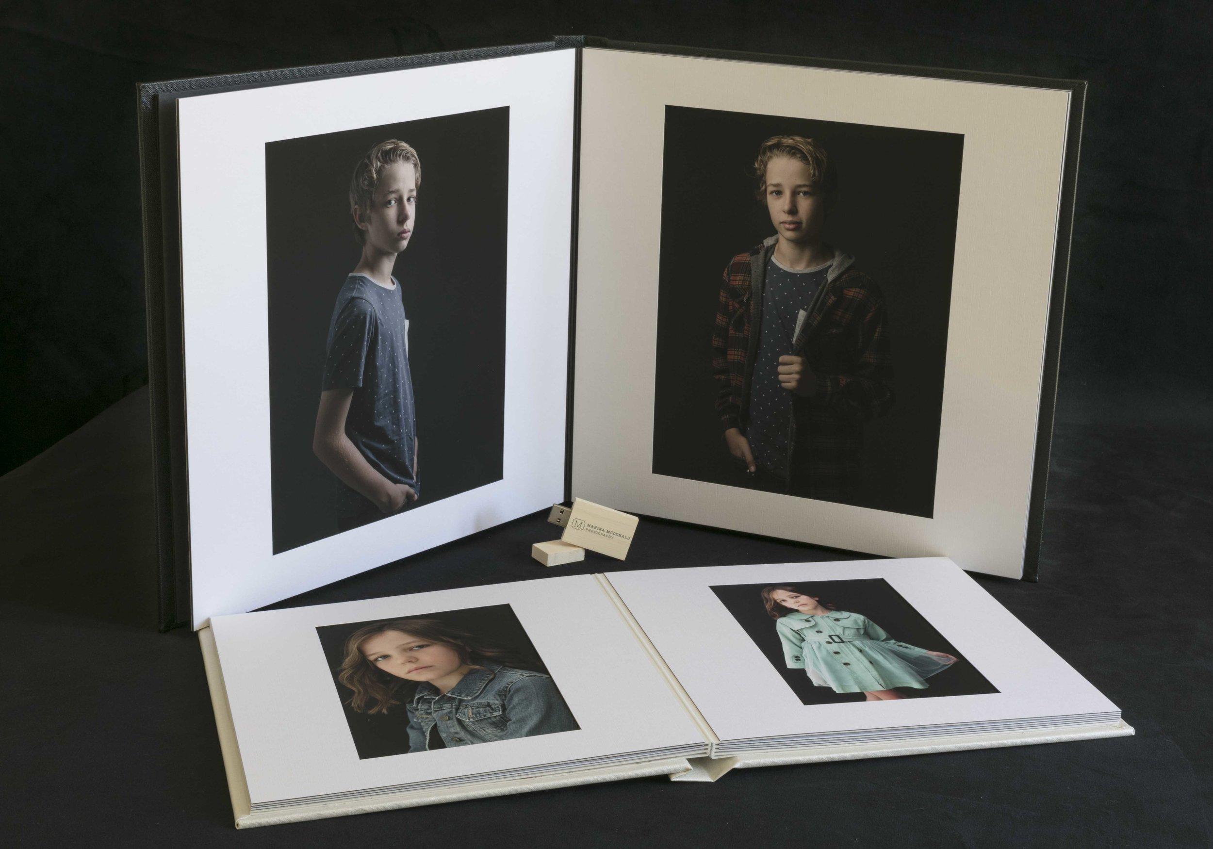 marina-mcdonald-teen-portrait-photography-products-folio-box-album