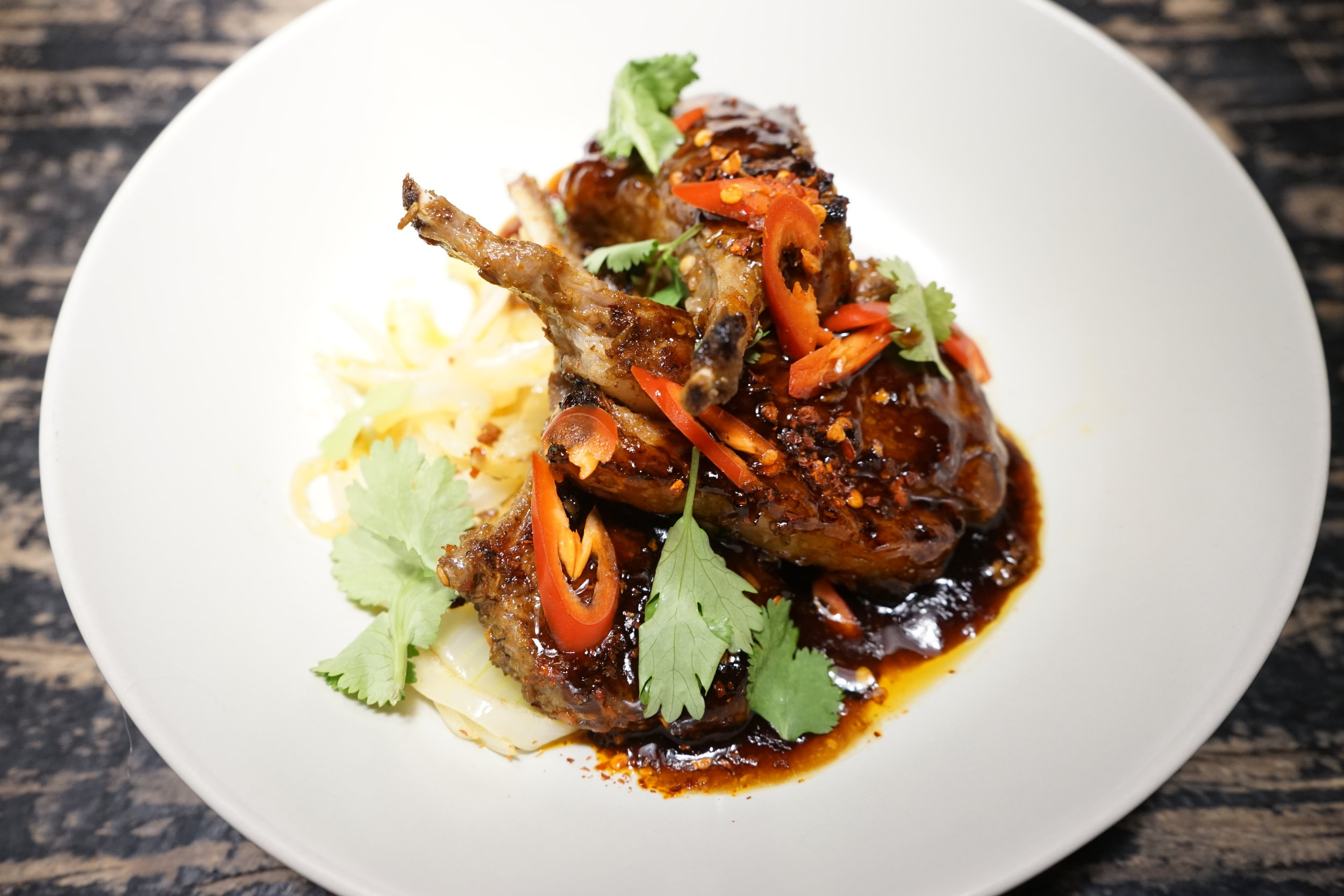 Aromatic Xinjiang lamb chops                                   Photo from Kewei's Kitchen