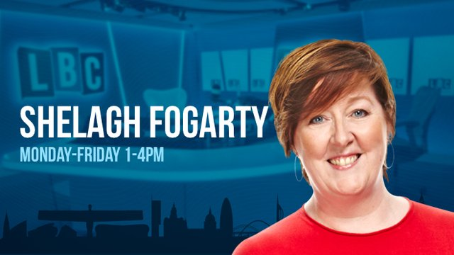 Shelagh Forgarty LBC Julie Bindel