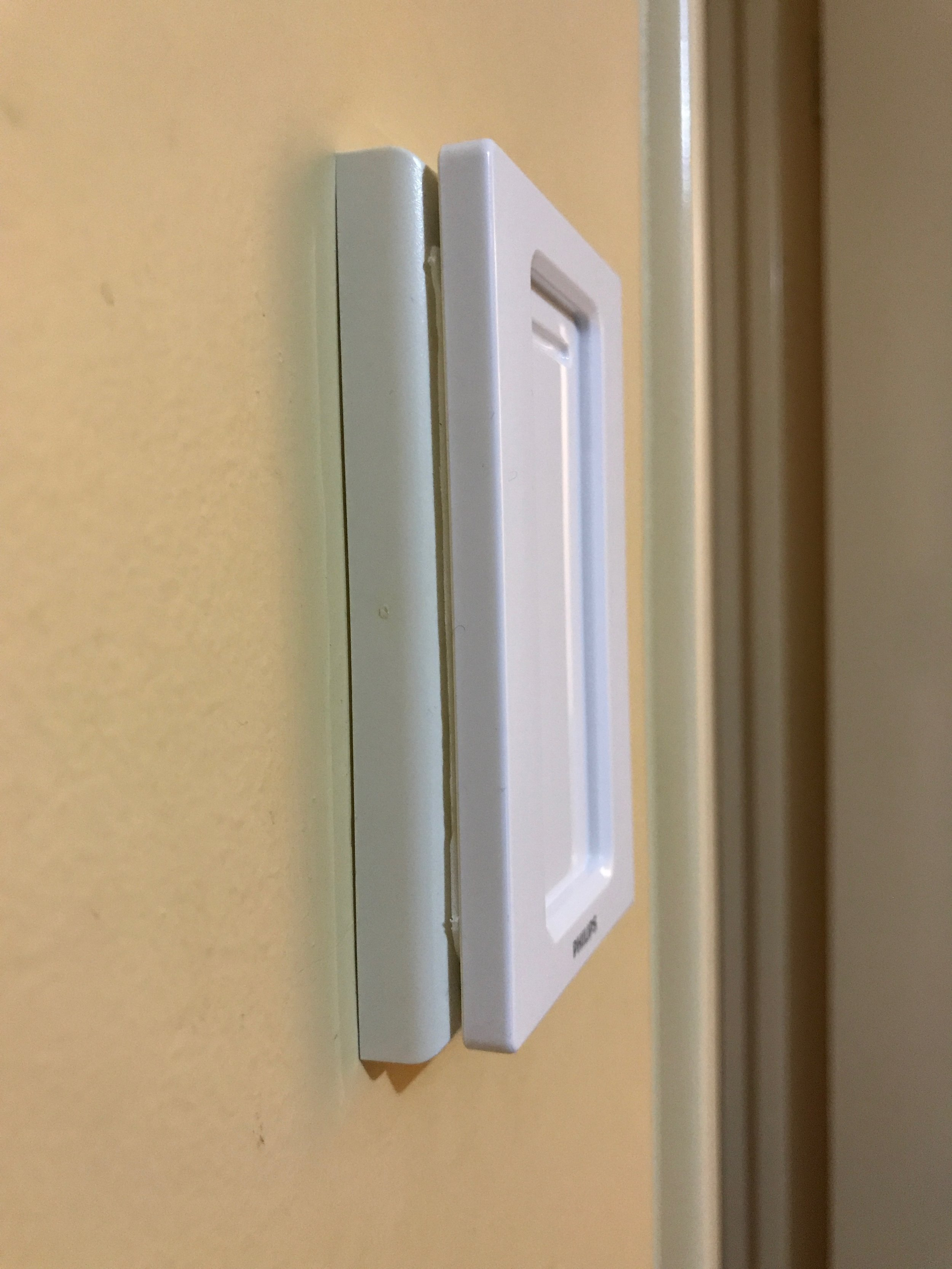 Step 3 - Dimmer Plate Attached