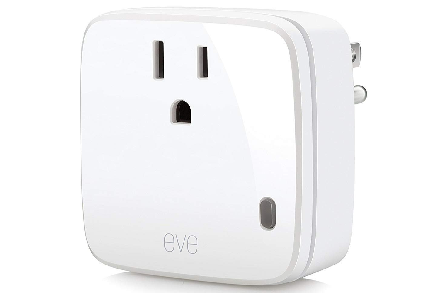 Eve Energy - NA:Type B, Japan: Type A100-240V, 1800W(US)/1100W(Japan), Bluetooth LE, Manual switch, consumption monitoringBuy: Amazon, Direct