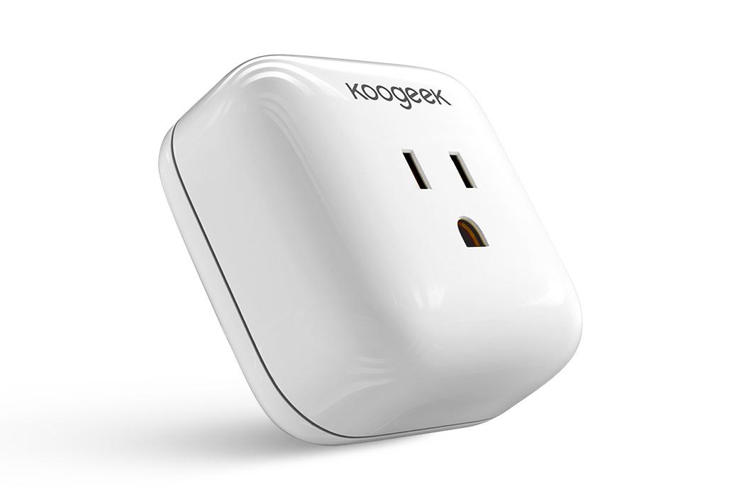 Koogeek P1 - 120V, 1800W, WiFi, manual switch, consumption monitoringBuy: Amazon, Direct