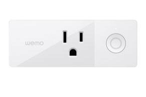 WEMO Mini Smart Plug - 120V, 1800W, WiFi, manual switchBuy: Amazon, DirectType C/E/F - Europe